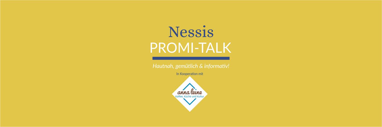 promitalkwebbild - Nessis Promi-Talk