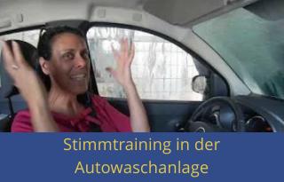 Stimmtraining Autowaschanlage Video - Youtube