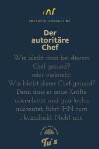 Der autoritaere Chef 200x300 - Der autoritäre Chef