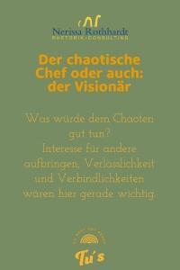 Der chaotische Chef 200x300 - Der chaotische Chef
