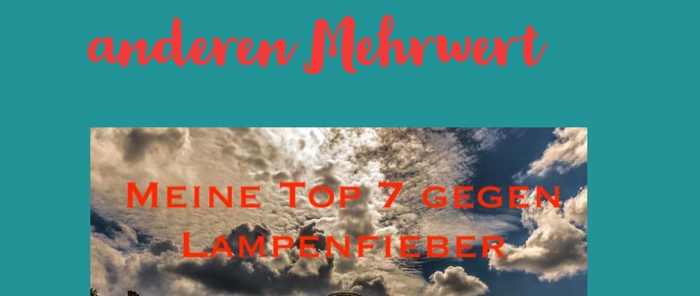 Top7gegenLampenfieber
