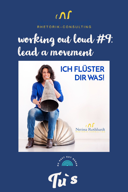 lead a movement - Blog